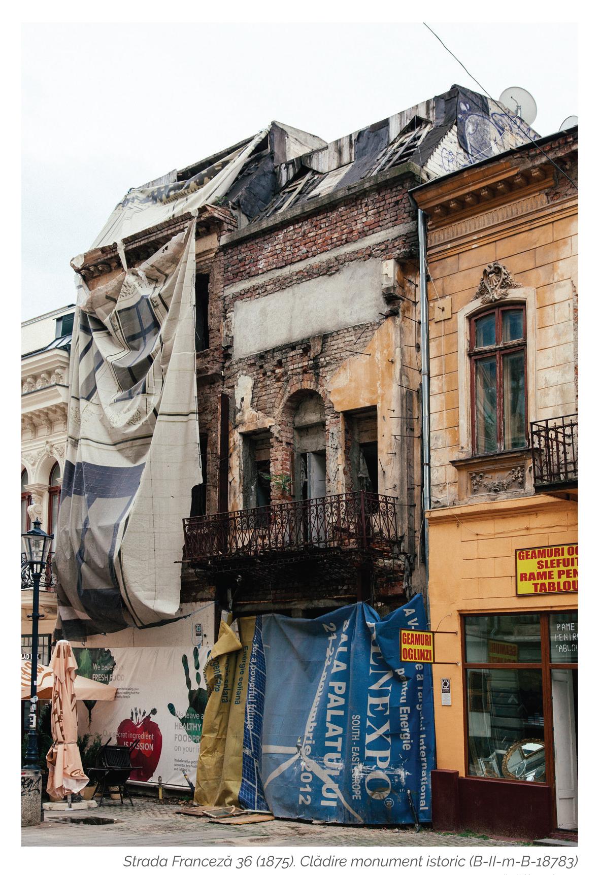 Irina Caretu_Bucuresti. Orasul vulnerabil_risc seismic_Bucuresti_Str. Franceza